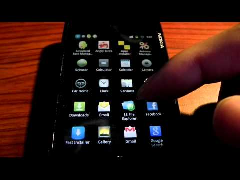 NOKIA N900 Nitdroid Gingerbread Overclocking to 1150mhz - PART 1