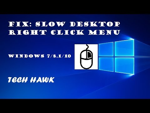 right click not working on windows 10 desktop