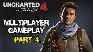 Uncharted 4: A Thief's End - Multiplayer Gameplay #4 TDM @ 1080p (60fps) HD ✔