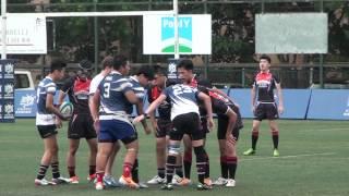全港中學學界欖球賽決賽2014 葵涌蘇浙 part3