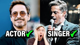 Famous Actors Who Can ACTUALLY Sing