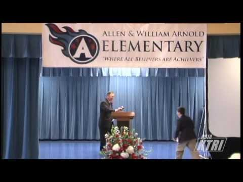 Allen & William Arnold Elementary School Dedication Ceremony - Part 1