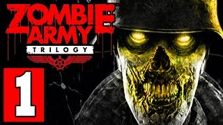 Zombie Army Trilogy Gameplay Walkthrough Part 1 Sniper Elite Zombie Army Trilogy PS4 XBOX ONE PC