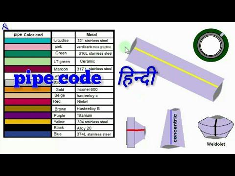 Pipe Material Code Chartpipe Metal Codepiping Metal Color Code