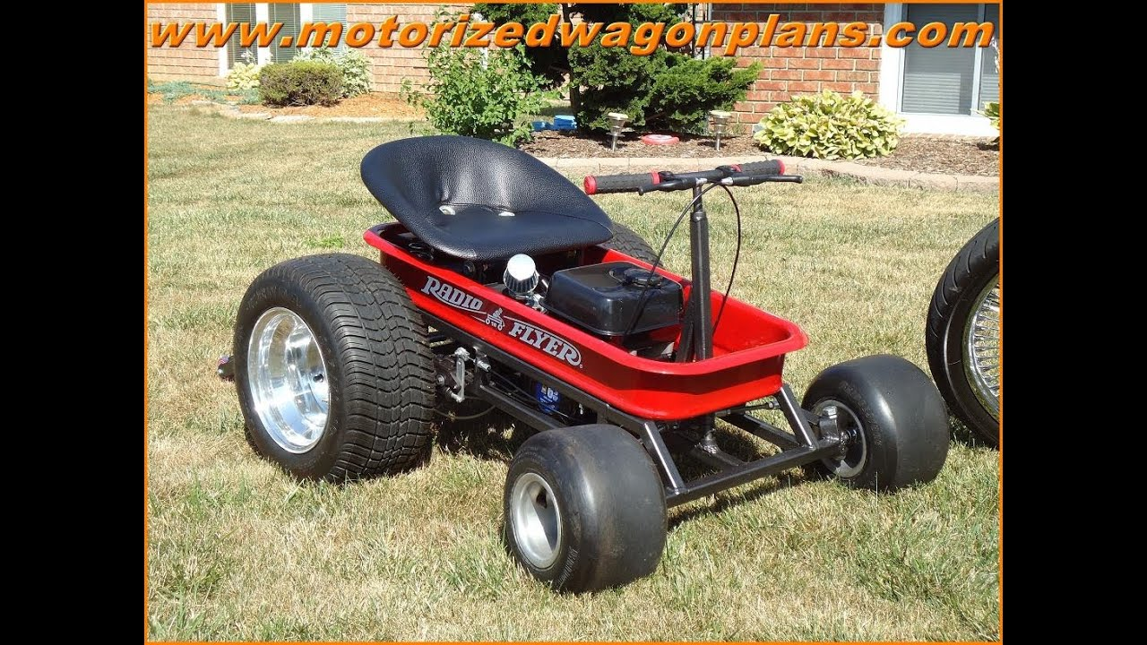 Adding Front Steering On A Motorized Wagon By Www