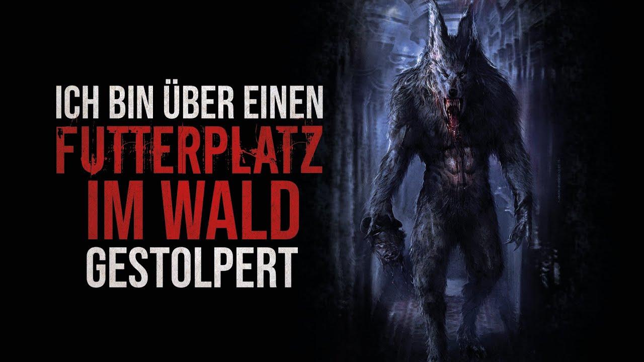 """Creepypasta """"Ich bin über einen Futterplatz im Wald gestolpert"""" German/Deutsch"""