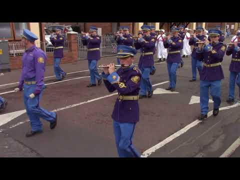 South Belfast Young Conquerors FB @ South Belfast Memorial Parade 2017