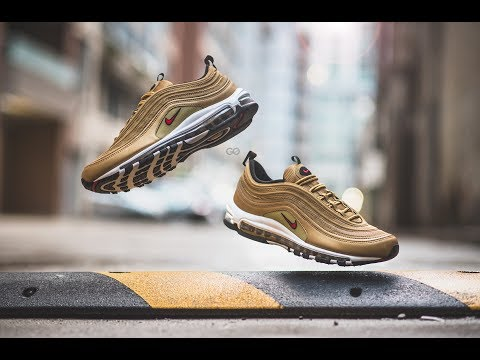 "Review & On-Feet: Nike Air Max 97 OG QS ""Metallic Gold"""