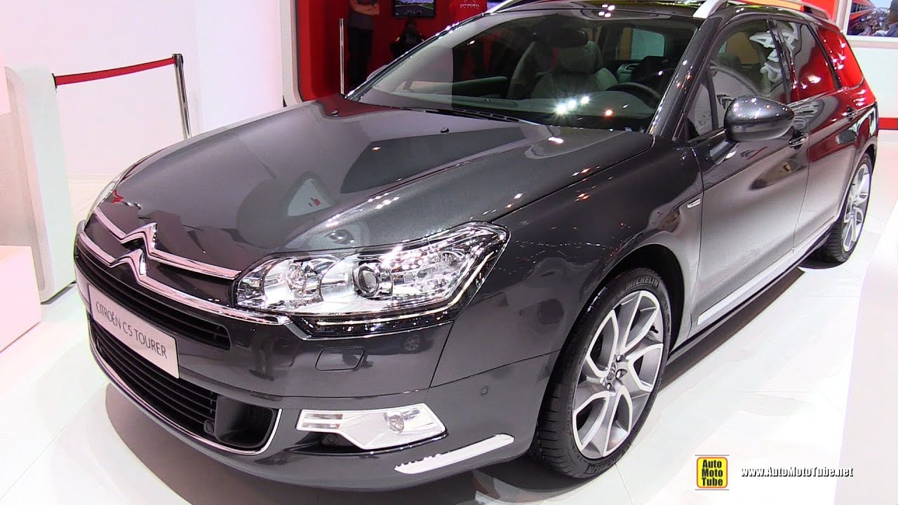2015 citroen c5 tourer exclusive exterior and interior walkaround 2015 geneva motor show. Black Bedroom Furniture Sets. Home Design Ideas