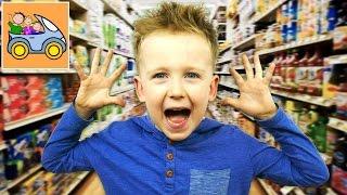 😱 ПОТЕРЯЛИСЬ В СУПЕРМАРКЕТЕ испугались ВСТРЕТИЛИ ПОДПИСЧИКОВ купили в Макдональдс игрушки Изнанка