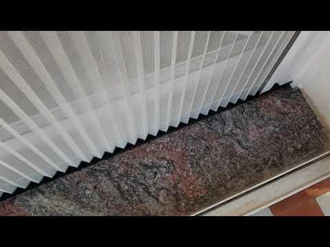 Instalación mosquitera Minima Reversible de MV LINE