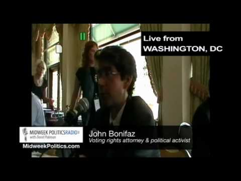 Midweek Politics with David Pakman - Attorney John Bonifaz Interview (1 of 2)