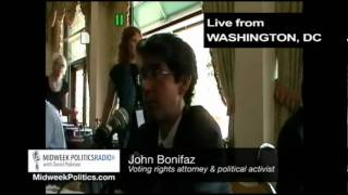 Midweek Politics with David Pakman - Attorney John Bonifaz Interview (1 of 2)