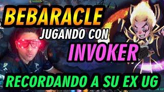 BEBARACLE EN PARTY DANDO CÁTEDRA CON INVOKER, RECORDANDO SU INVO DE UG - DOTA 2