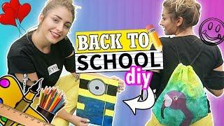 BACK TO SCHOOL: DIY PRZYBORY SZKOLNE!