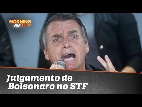Pedido de vista suspende julgamento de Bolsonaro no STF