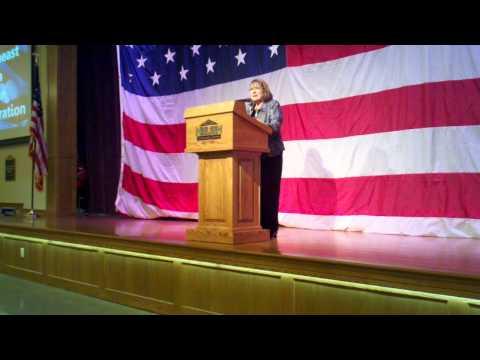 Lydia Brasch West Point Harvest Celebration speech