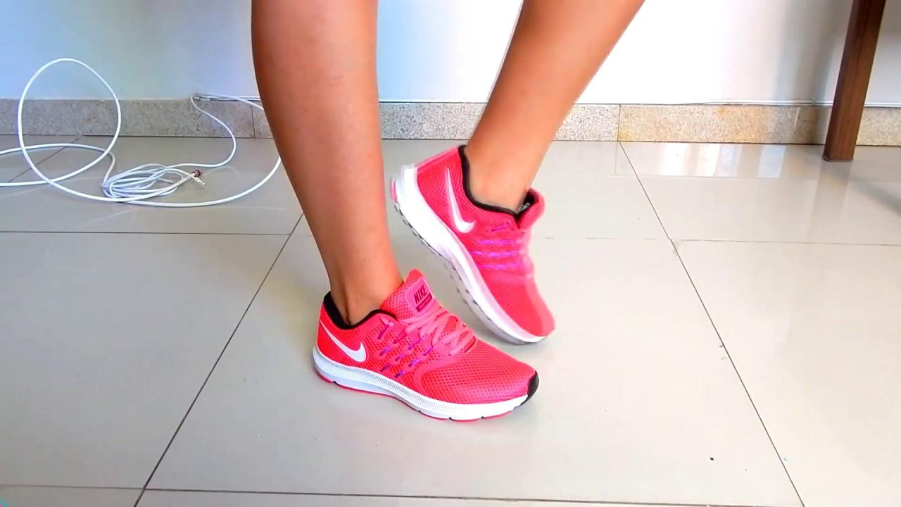 Tênis Nike Esportivo Otimo Para Academia Corrida Caminhada Etc