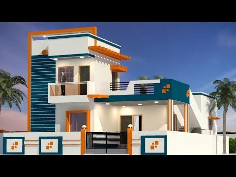 New Home Design 2020 Duplex House Plan 2bhk 2000 Sqft Low Price House Youtube