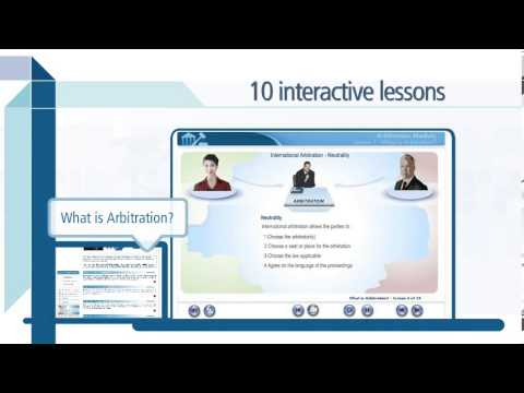 ICC Arbitration online training demo, including application of the 2012 ICC Rules