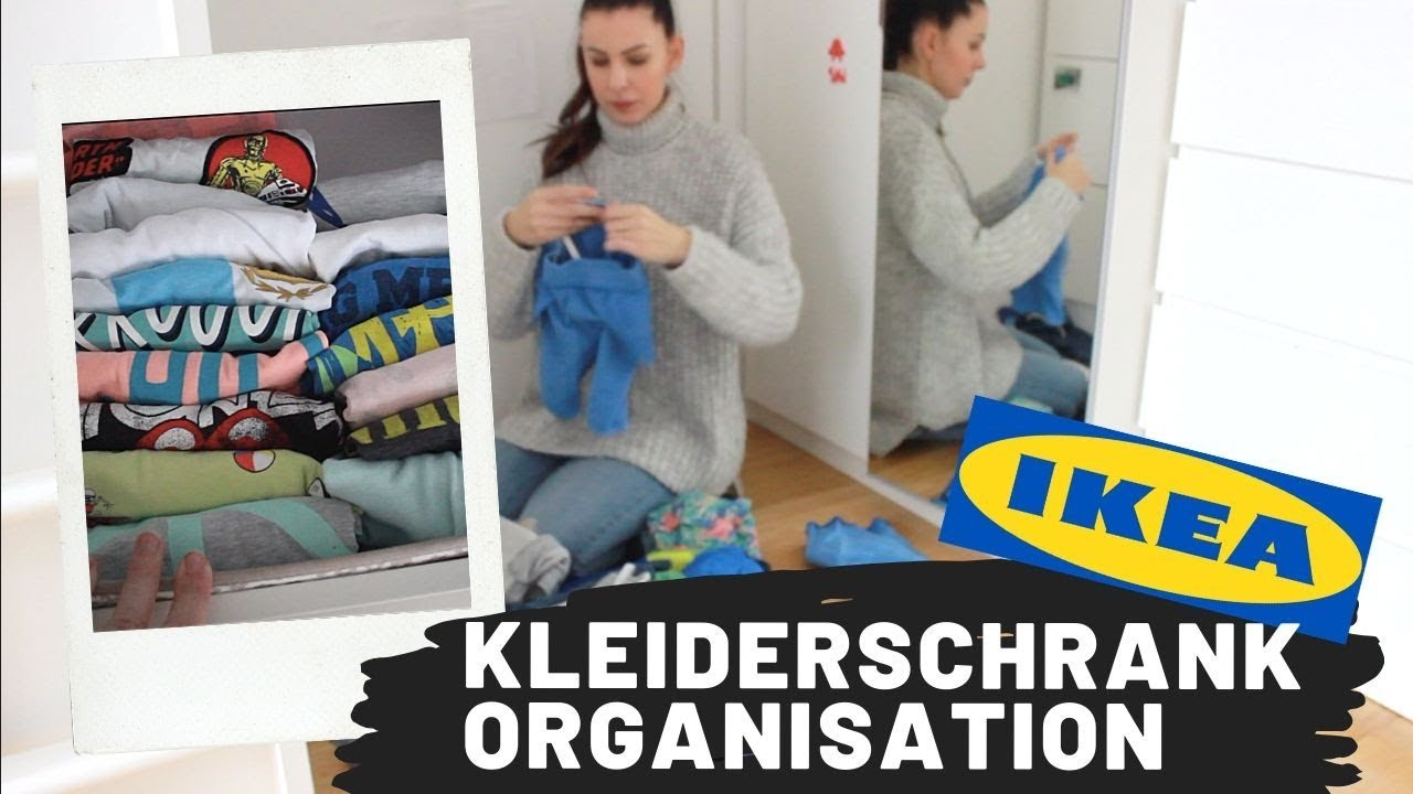 Konmari In Kinderzimmer Kleiderschrank Organisieren Ikea Pax