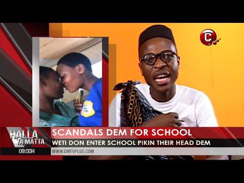 School pikin dem boil beans for inside classroom | Halla Ya Matta with Papa Joe