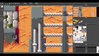 Halfway: Tileset creation using Pyxel Edit