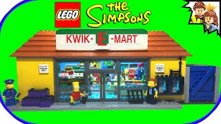lego simpsons kwik e mart 71016 build review