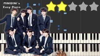 BTS (방탄소년단) - Make It Right (feat. Ed Sheeran) 《MINIBINI EASY PIANO ♪》 ★★☆☆☆