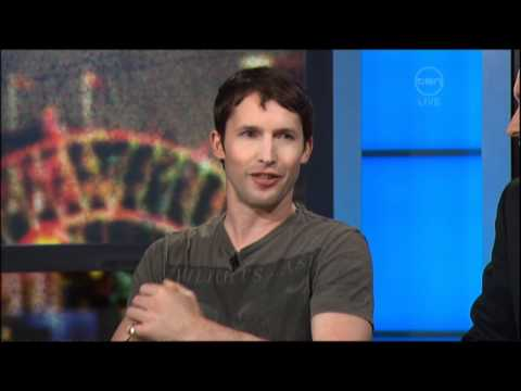 James Blunt Interview - The 7pm Project (Australia) 2011
