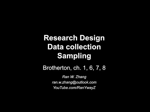 MBA - Research Methods (1 of 5) from YouTube · Duration:  4 minutes 27 seconds