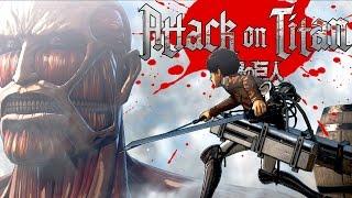 РВУ ТИТАНОВ НА КУСКИ ! : Attack on Titan Wings of Freedom