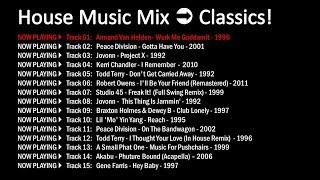 DJ Vex - House Music Mix #1 - (Classics House) [Christian Burgos Style]