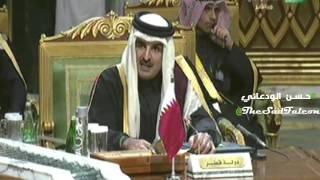 كلمة أمير قطر الشيخ تميم بن حمد في #القمة_الخليجية الدورة 36 #الرياض || 28 - صفر - 1437 هــ