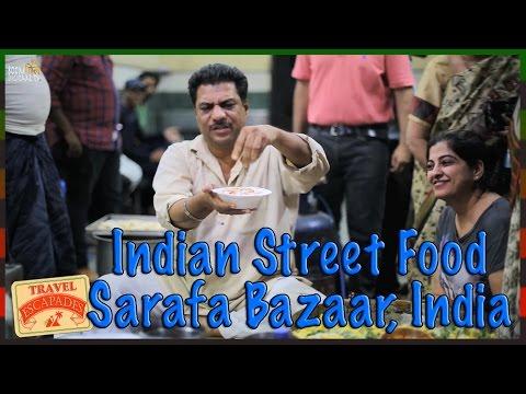 Street food India   सराफा बाजार   इंदौर की चाट  