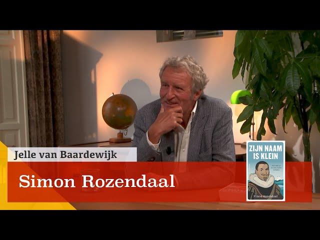 'Piet Hein, zijn naam is klein, zijn daden benne groot'. In gesprek met Simon Rozendaal