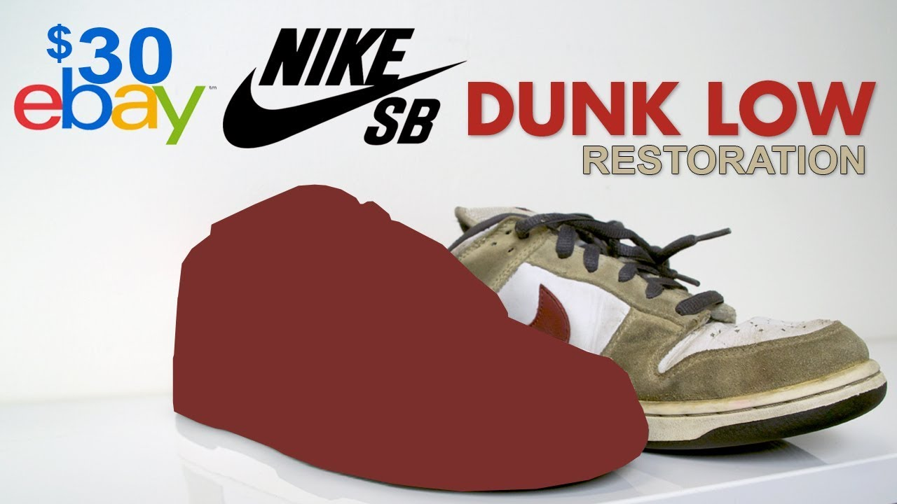 e16d26948582 Restoring  30 Suede Nike SB s found on eBay! Vick Almighty - YouTube