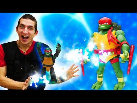 Игры для мальчиков - Новые Черепашки Ниндзя: прокачиваем Супергероев! – Онлайн видео шоу.