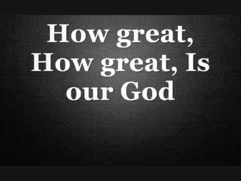 How Great Is Our God Instrumental Karaoke Lyrics Chords In D
