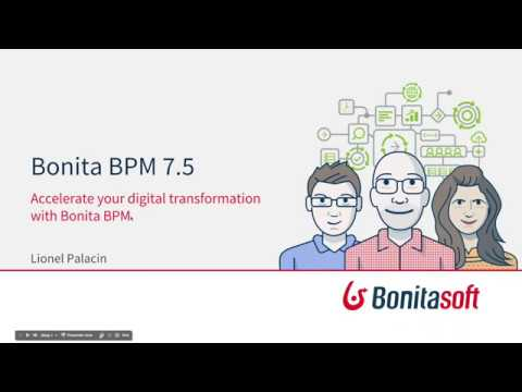 Accelerate your digital business transformation with Bonita BPM 7.5