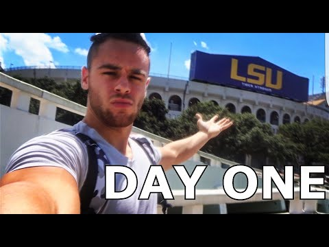 LSU FIRST DAY OF CLASSES | VLOG