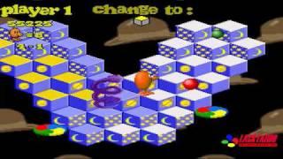 Q*Bert 3 level 4 HD