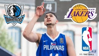 Top 3 NBA Teams That May DRAFT Kobe Paras! | Filipino Superstar Entering 2018 NBA Draft!