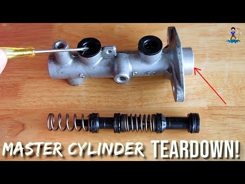 Vehicle Brakes: Master Cylinder(How it works)