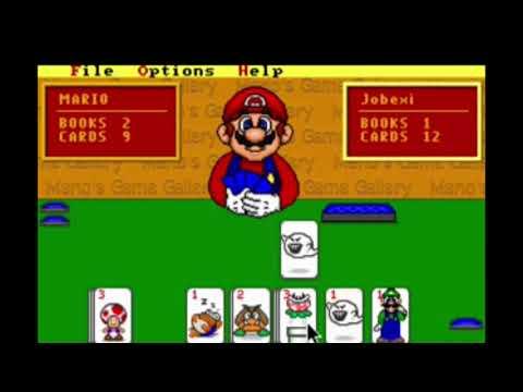 [YTP] Mario Ruins A Game Of Go Fish