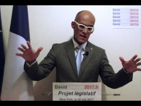 David Lawson: projet législatif 2017-2022