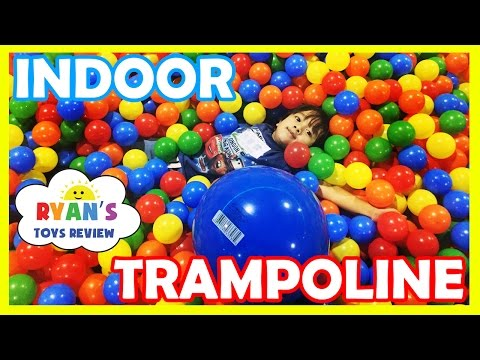 Gaint Balls Pit Huge Indoor Playground Bounce House Kids Play Area Family Fun Play Center Trampoline