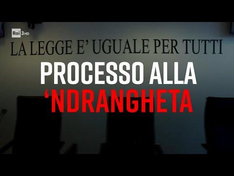 Processo alla 'ndrangheta - Presadiretta 15/03/2021