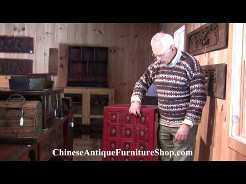 Chinese Antique Apothecary Chests