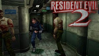 [18+] Шон играет в Resident Evil 2 (PS1/PS3 1998)